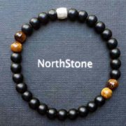PULSERA MANHATTAN BROWN