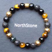 pulsera hombre northstone africa gold