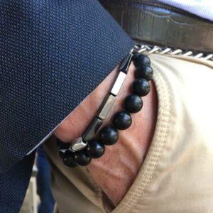 pulsera hombre northstone magnum onix
