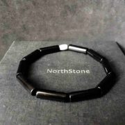 PULSERA HOMBRE NORTHSTONE BLADE RUNNER BLACK NEW