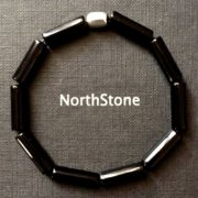 PULSERA HOMBRE NORTHSTONE BLADE RUNNER BLACK NEW