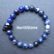 PULSERA HOMBRE NORTHSTONE SWAROVASKI BLUE