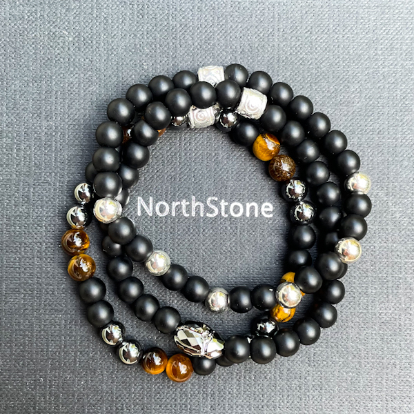 PULSERAS NORTHSTONE NUEVA LUXURY BLACK