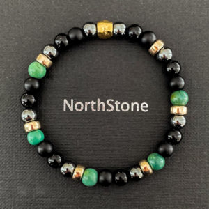 pulsera hombre northstone green forest