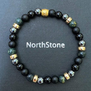 pulsera northstone green forest