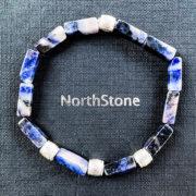 PULSERA NORTHSTONE BROOKLYN BLUE