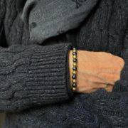 pulsera hombre northstone raven grey
