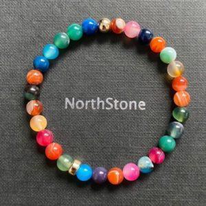 pulsera hombre northstone niza multicolor