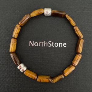 pulsera northstone monaco plata