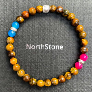 pulsera northstone manhattan plata