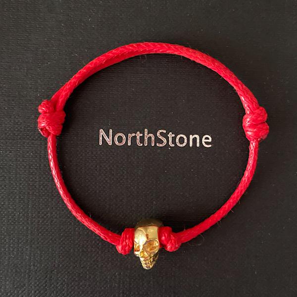 pulsera northstone skull hilo